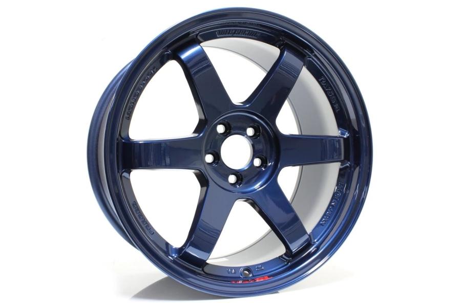 Volk Racing TE37 SL 18x9.5 +40 5x100 Mag Blue - Universal