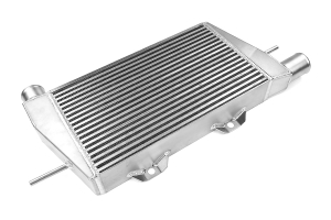 ETS Front Mount Intercooler Black Piping Silver Core (Part Number: )