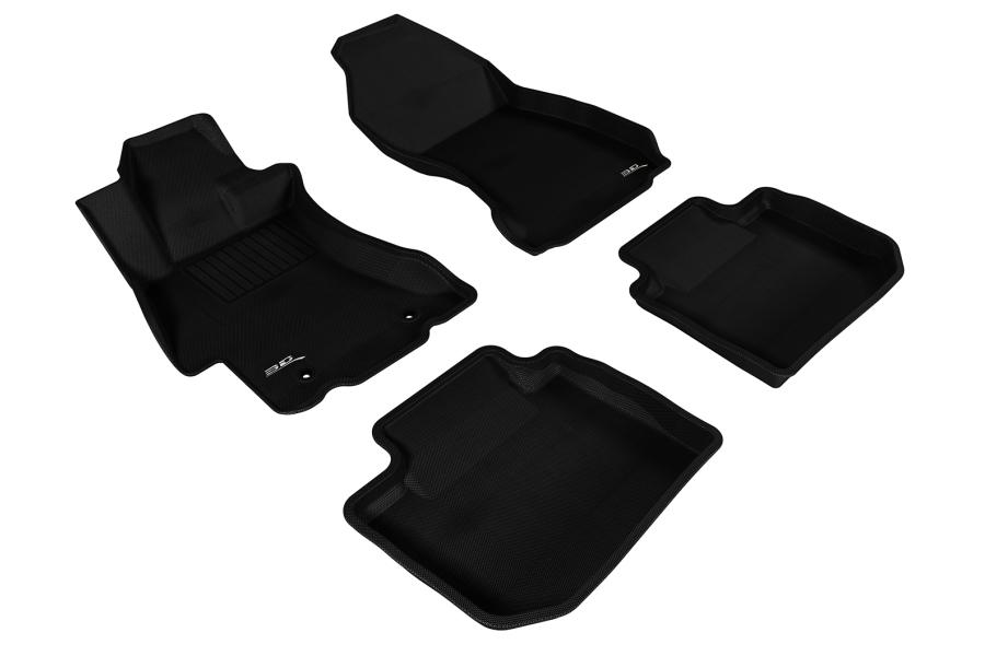 3D MAXpider KAGU Floor Liners - Subaru Forester 2009 - 2013
