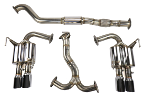 MXP Comp RS Cat Back Exhaust SS Tips (Part Number: )
