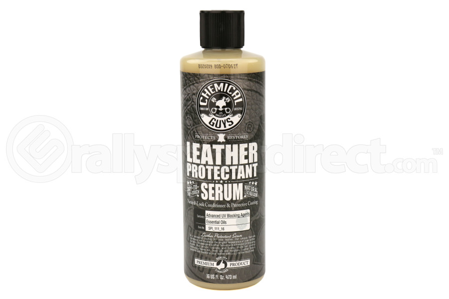 Chemical Guys Natural-Look Leather Conditioner and Protective Coating Serum (16oz) - Universal