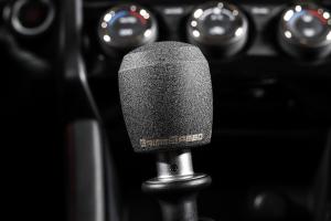 GrimmSpeed Stubby ShiftKnob Stainless Steel Black - Subaru 6MT Models (inc. 2004+ STI / 2013+ BRZ)