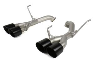 cp-e Austenite Off Road Axle Back Exhaust Muffler Delete w/ Black Tips - Subaru WRX / STI 2015 - 2020