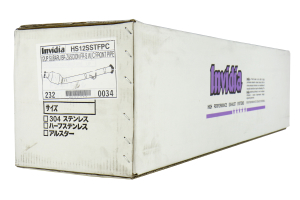 Invidia Test Pipe Catted ( Part Number:INV HS12SSTFPC)
