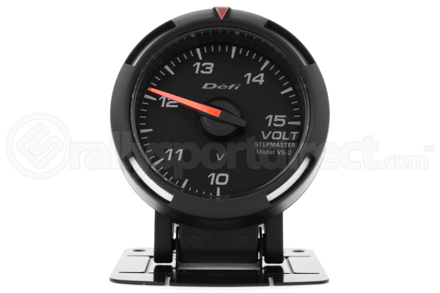 Defi White Racer Volt Gauge 52mm (Part Number:DF07006)