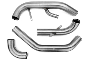ETS Lower and Upper Intercooler Pipes Silver ( Part Number: 200-30)