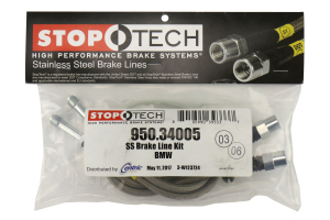 Stoptech Stainless Steel Brake Lines Front - BMW M3 2001-2006 / Z4 2003-2007