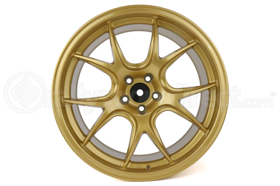 Ambit FF3 18x9.5 +35 5x100 Gold Wheel - Universal