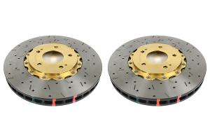 DBA 5000 Series Drilled/Slotted Rotor Pair Front (Part Number: )