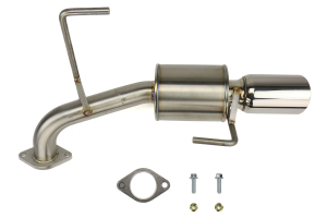 Nameless Performance Axleback Exhaust w/5in Muffler 3.5in Single Wall Tip - Subaru Impreza 2.0i Sedan 2017+