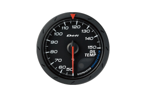 Defi Advance CR Oil Temperature Gauge 60mm (Part Number: )