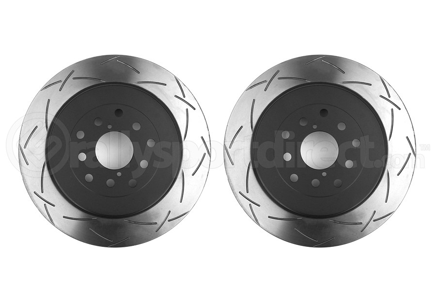 DBA 4000 Series T-Slot Slotted Rotor Pair Rear (Part Number:4655S-10-G)