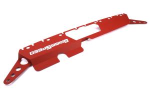 GrimmSpeed Radiator Shroud Red - Subaru WRX/STI 2015+