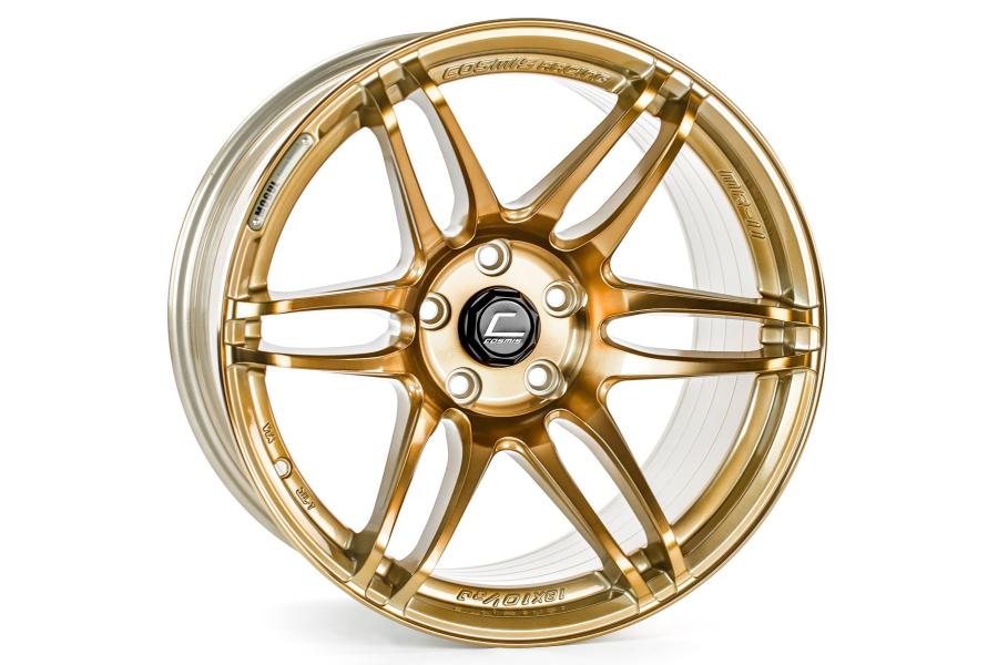 Cosmis Racing Wheels MRII 18x9.5 +15 5x114.3 Hyper Bronze - Universal