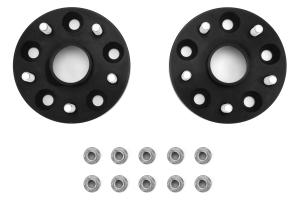 PERRIN Wheel Spacers 20mm 5x114.3 Black Pair - Subaru STI 2005+ / WRX 2015+