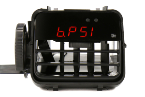 P3 Gauges Vent Integrated Boost Gauge w/ Black Vent Housing (Part Number: )
