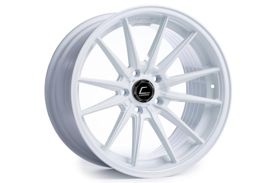 Cosmis Racing Wheels R1 19x8.5 +35 5x120 White - Universal
