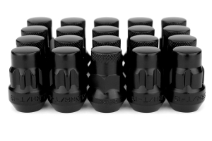 Muteki SR35 16+4 Closed Ended Black Lug Nuts 35mm 12x1.50 (Part Number: )