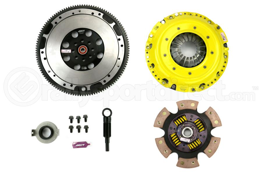 ACT Xtreme Race Sprung 6 Pad Clutch Kit w/Flywheel (Part Number:SB11-XTG6)