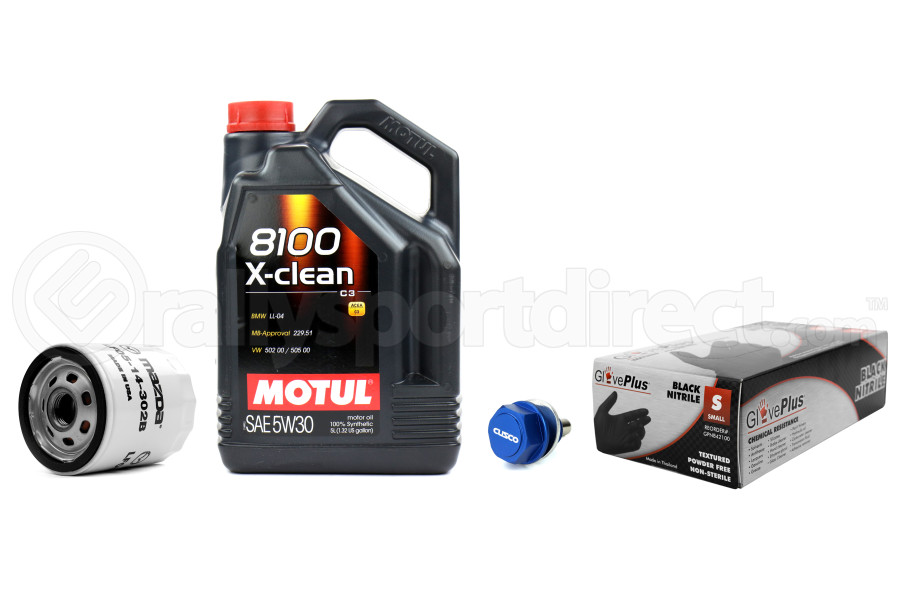 Mazda Mazdaspeed 3/6 Oil Change Kit (Part Number:MAZDAOIL)