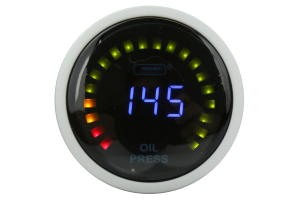 ProSport Digital Oil Pressure Electrical w/Sender Blue 52m (Part Number: )