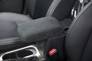 Subaru JDM OEM Ultrasuede Arm Rest w/ Silver Stitching - Subaru Forester 2014 - 2018