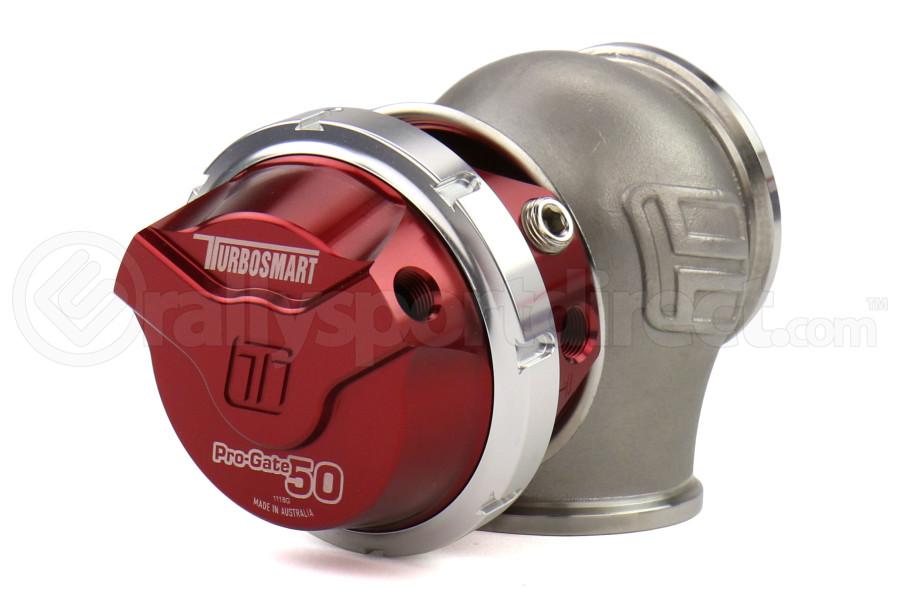 Turbosmart WG50 GenV Pro-Gate 50mm 14psi Red - Universal