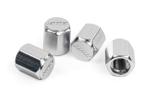 APR Valve Stem Caps Silver - Universal