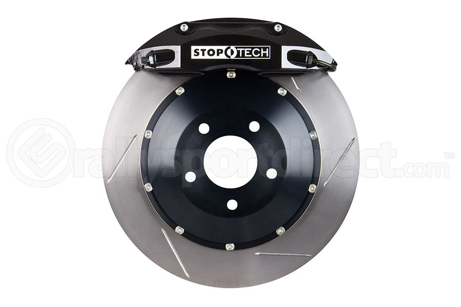 Stoptech ST-40 Big Brake Kit Front 355mm Black Slotted Rotors (Part Number:83.836.4700.51)