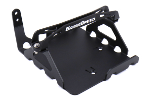 GrimmSpeed Lightweight Battery Mount Black - Subaru WRX/STI 2008+