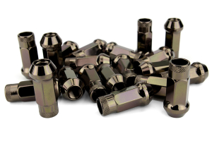 Muteki SR48 Open Ended Lug Nuts 12X1.50 Chrome Titanium ( Part Number:KIC 32906T)