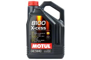 Motul 8100 X-Cess 5W40 Engine Oil 5L ( Part Number:MOU 102870)