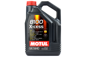 Motul 8100 X-Cess 5W40 Engine Oil 5L ( Part Number: 102870)