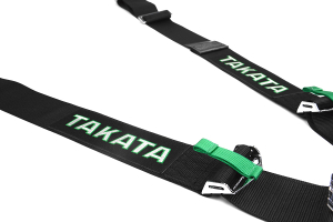 Takata Race 4 4-Point Harness Black Bolt-On (Part Number: 71001-0)