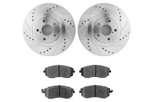 Hawk Performance Rotors w/ HPS 5.0 Pads Kit Front ( Part Number: HK5339.352B)
