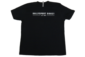 RallySport Direct Vintage Black Premium T-Shirt ( Part Number: 4010)