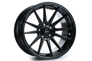Cosmis Racing Wheels R1 18x10.5 +30 5x114.3 Black - Universal