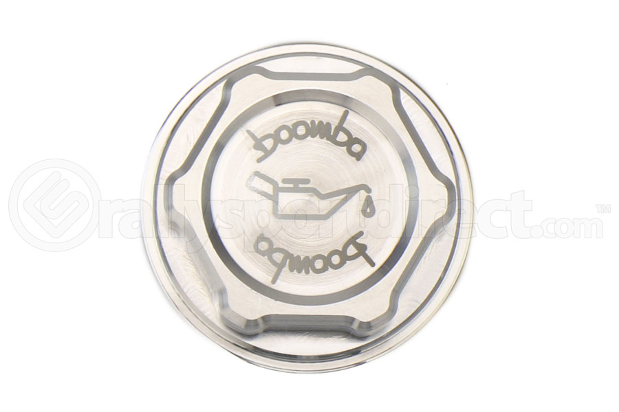 Boomba Racing Oil Cap Natural Finish - Ford Focus RS 2016+ / Focus ST 2013+ / Fiesta ST 2014+