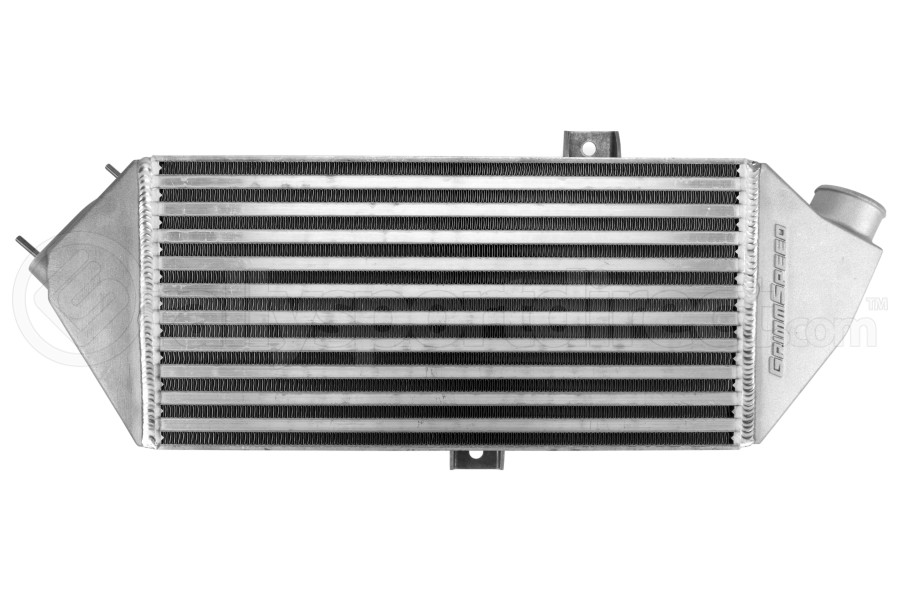 GrimmSpeed Top Mount Intercooler Silver - Subaru Legacy GT / Outback XT 2005-2009