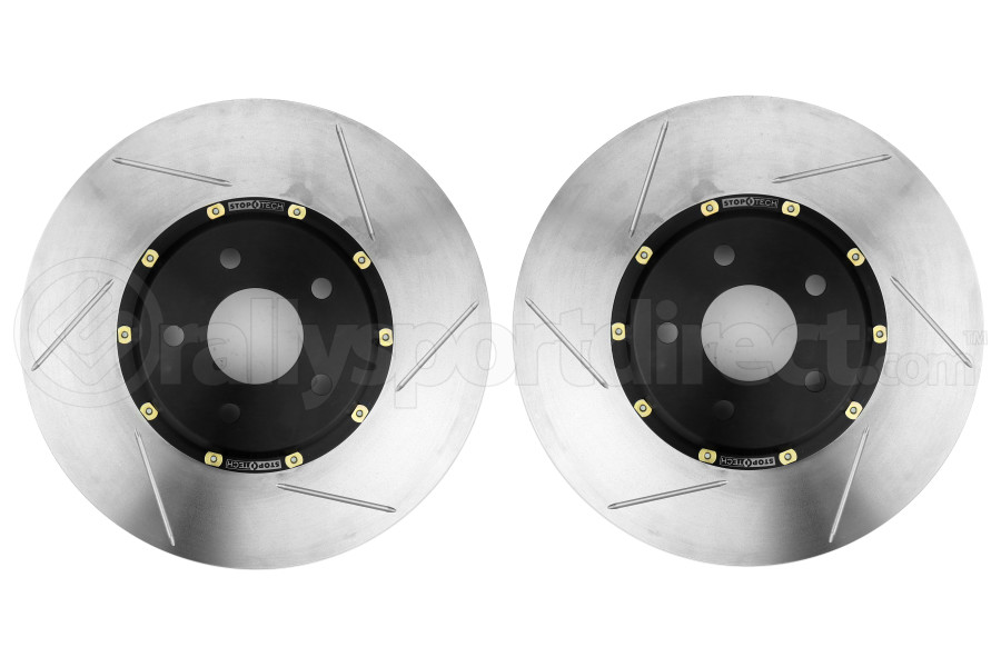 Stoptech Aerorotor 320x25 Pair Slotted Front (Part Number:81.342.9911)