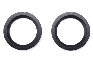 SSR Wheels Plastic Hubcentric Rings Pair 73mm to 56.1mm  - Universal