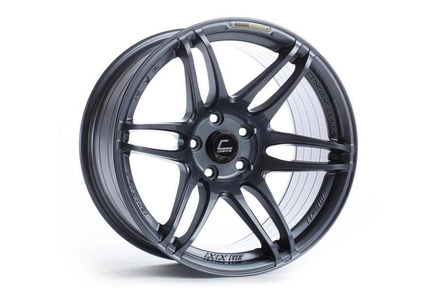 Cosmis Racing Wheels MRII 18x9.5 +15 5x114.3 Gunmetal - Universal