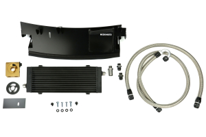 Mishimoto Thermostatic Oil Cooler Kit Black - Ford Focus RS 2016+
