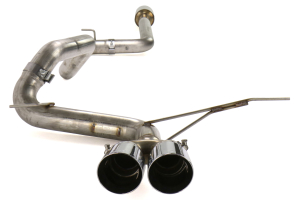 AWE Tuning Track Edition Cat Back Exhaust Chrome Tips - Ford Focus ST 2013+