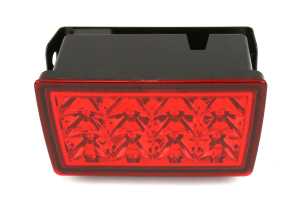 SubiSpeed USDM F1 Style Rear Fog Light Red (Part Number: )