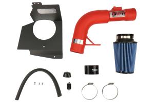 Injen Cold Air Intake Wrinkle Red - Subaru STI 2015-2017