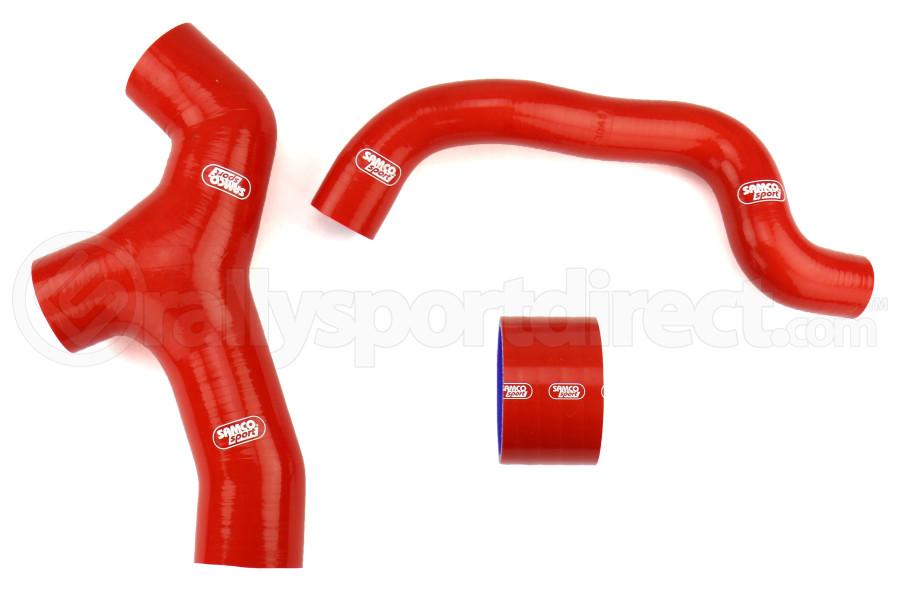 Samco Silicone Intercooler Hoses Red - Subaru WRX 2006-2007