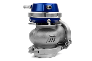 GrimmSpeed and Turbosmart 38/40mm EWG 2-Bolt Uppipe Blue Wastegate Kit ( Part Number:GRM 059001-TBS-BL)