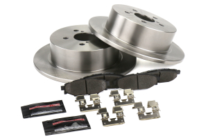 Power Stop Track Day Brake Kit Rear - Subaru Models (inc. 2005-2009 Legacy 2.5i)