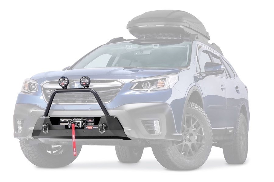 Warn Industries Semi-Hide Winch Mount - Subaru Outback 2020+